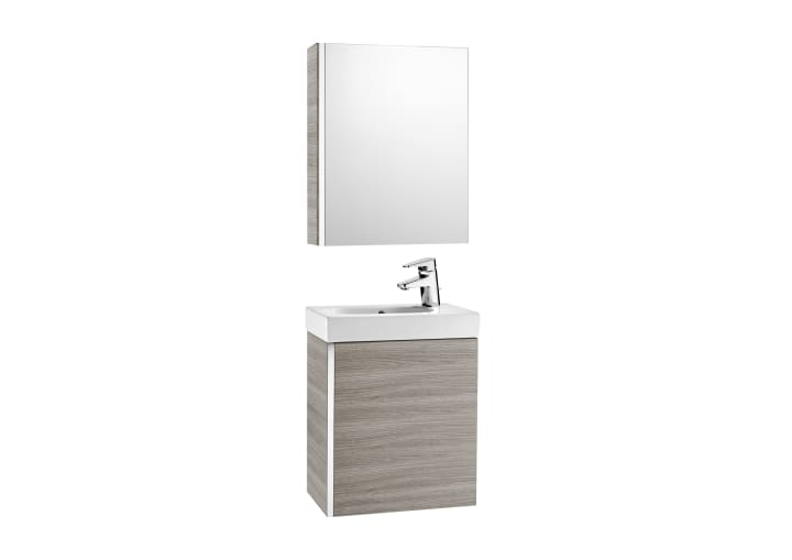 Pack Meuble Lave Mains En Porcelaine Armoire De Toilette