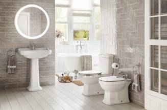 Carmen vintage bathroom collection of Roca